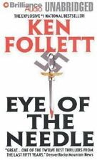 Eye of the Needle by Ken Follett (2007, CD, Unabridged)