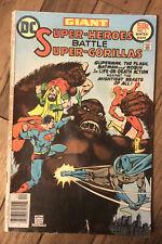 Super Heroes Battle Super Gorillas One-Shot (1976) Dc Comics Superman Batman
