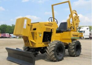 2002 Vermeer V3550A 4WD Ride-On Trencher Side Shift 6-Way Blade