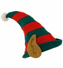 1pcs Christmas elf hat Polyester Xmas Hat Fancy Dress Costume One Size Fun Hat