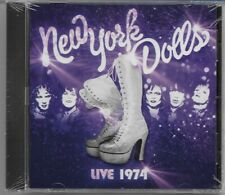 New York Dolls - Live 1974 - New & Sealed 2014 European 12 track CD