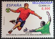 2013 ESPAÑA SEDE 23 CAMPEONATO DEL MUNDO DE BALONMANO EDIFIL 4779 ** MNH TC20717