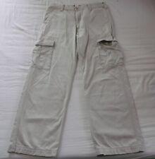 LEVI'S Cargo Pants 36 x 32 (tagged 34 x 34 ?)  White/Ivory/Cream