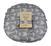 Newborn Infant Lounger Cover Water Resistant Gray White Arrow Baby Shower Gift