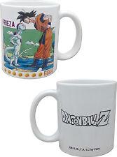 Dragonball Z Goku Vs. Frieza Coffee Mug Cup Anime Manga NEW