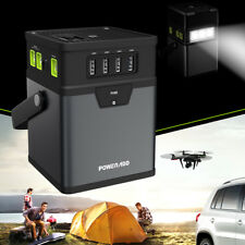Poweradd 50000mAh ChargerCenter Portable Generator Dc/Ac Power Inverter W/ Usb