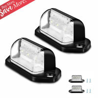 3 LED Universal License Number Plate Light Lamps for Truck SUV Trailer Lorry 12V