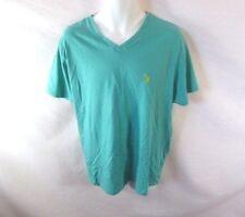 Men's U.S POLO ASSN Green Short Sleeve T-Shirt Sz XL