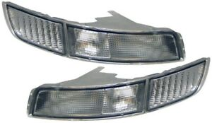FOR TOYOTA MR2 MK2 1991-1999 CLEAR FRONT INDICATOR LIGHTS