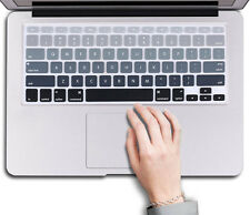 """US Silicone Keyboard Cover Sticker Keypad Skin for Macbook Air Pro 13""""15""""17''"""
