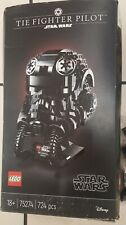 LEGO 75274 Star Wars TIE Fighter Pilot Helmet - MISSING BAG 4 - READ DESCRIPTION