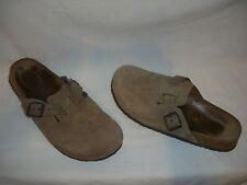 BIRKENSTOCK Betula Beige Suede Leather Clogs Shoes - L 9 / M 7 - GUC