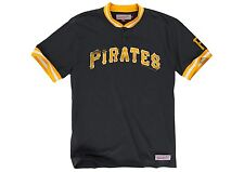 mitchell and ness pittsburgh pirates game ball s/s t-shirt black-yellow small
