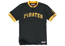 mitchell and ness pittsburgh pirates game ball s/s t-shirt black-yellow large