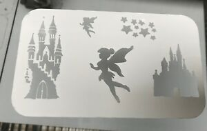 Fairy Castle Reusable Mylar Stencil Face Painting/AirbrushTattoo Free Uk Postage