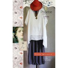 """TINA GIVENS """"PHOEBE SHIRT + PANTS"""" Sewing Pattern"""
