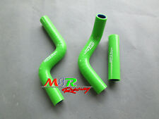 for KAWASAKI KX80 KX85 KX100 1998-2009 silicone radiator hose green