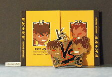 Street Fighter Enamel Key Chain Kidrobot Evil Ryu Vs Akuma