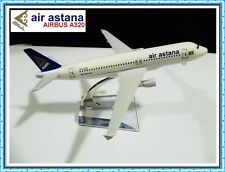 AIRBUS A320 AIR ASTANA AIRLINE AEROPLANE METAL PLANE MODEL DIECAST GIFT TOY TOYS