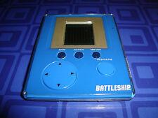 Battleship Electronic Handheld Travel Game Credit Card Pocket Size Blue
