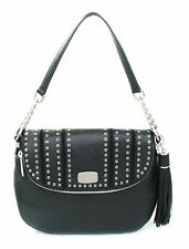 Michael Kors Black Mini Grommets Bag Shoulder Bag Satchel RRP £310.00