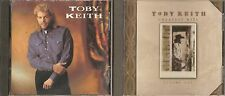 Toby Keith and Greatest Hits Vol 1  by Toby Keith (Lot of 2 CDs)