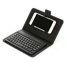 Wireless Bluetooth Keyboard Case Cover Holder for iPhone Samsung LG HTC Android