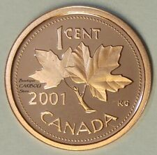 2001 Canada Proof 1 Cent