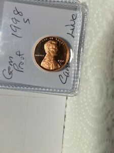 1998 S Lincoln Cent Deep Cameo Gem Proof