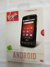 New Virgin Mobile LG Optimus V Prepaid CDMA Android 3G Smartphone Cellphone