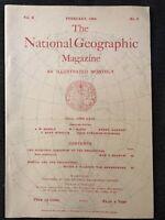 (REPRINT!) National Geographic Magazine February 1899 Vol.X, No.2 Philipines