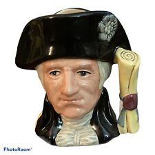 Royal Doulton George Washington D6824 Character Mug 1982