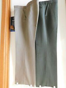 "2x Pairs ""HARD YAKKA & MYER"" Dress Up Pants Work Parkchester Tweed XXXL(K5) NEW"