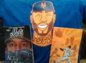 New York Mets T-Shirt Magazine Brooklyn Cyclones Pedro Martinez Beltran Rosario