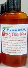 Hand Crafted Honey Face Wash, Honey, Glycerin, Castile Soap, Essential Oil 5 oz.