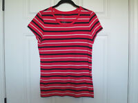 GAP The Essential Crew Striped Top, Small