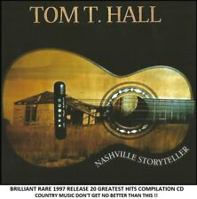 Tom T.Hall - The Very Best 20 Greatest Hits Collection - RARE Country Music CD