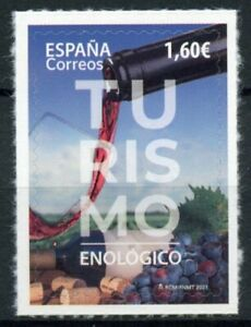 Spain Tourism Stamps 2021 MNH Winemakers Viticulture Cultures 1v S/A Set