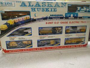 K Line Trains 1106 The Alaskan Huskies Set