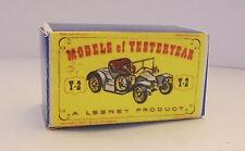 Repro Box Matchbox MOY Nr.02 1911 Renault