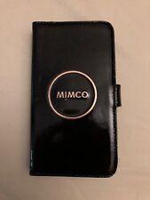 Mimco Black ENAMOUR FLIP CASE IPHONE 6 PLUS/7 PLUS/8 PLUS AuthenticBNWT RRP99.95