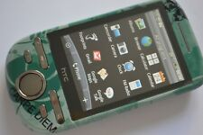 HTC Tattoo A3232 - Black - Green (Unlocked) Smartphone