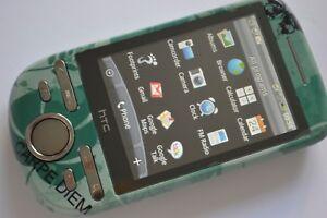 HTC Tattoo A3232 - Black - Green (Unlocked) Smartphone