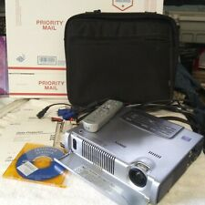 $4500 Sony Vpd-Mx10 Video Projector W Accessories Needs New $20 Fan Installed
