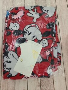 NEW LuLaRoe TC Disney Leggings Solid Red Vintage Fighting Mickey Mouse
