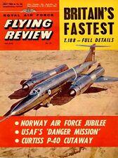 RAF FLYING REVIEW JUL 62 HP VICTOR_BRISTOL 188_WW2 B-26_He60_CURTISS P-6E_P-40C
