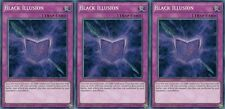 Black Illusion YGLD-ENC00 Secret 1st (Mint X 3) YUGIOH Ultra Rare Effect Monster