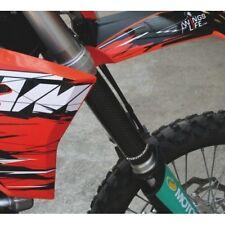 ProGrip Genuine Carbon Upper Fork Guards Kawasaki KX125 KX250 KX500 99-17