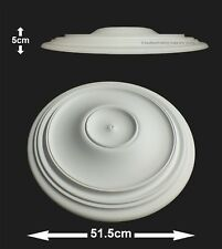 51.5cm Diameter, Lightweight Ceiling Rose (made of strong resin not polystyrene)