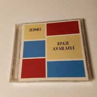 NEW Cosmic Space Available Detroit Techno CD 1999 Private Press Michigan Dance